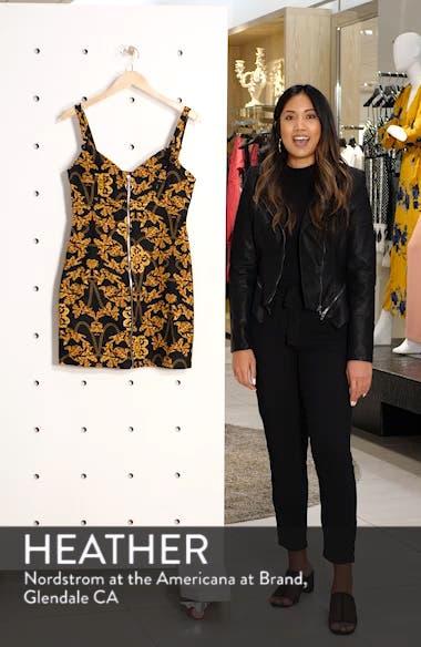 Chain Print Denim Dress, sales video thumbnail