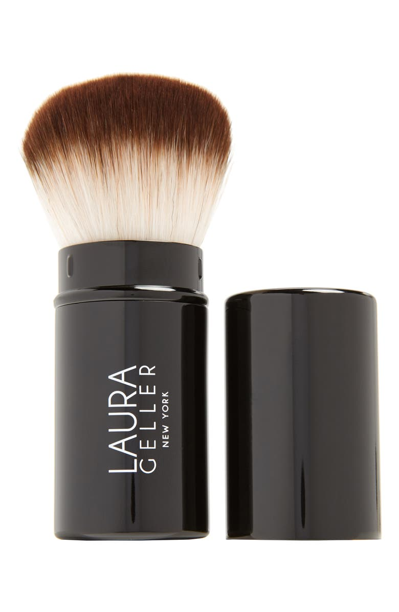 LAURA GELLER BEAUTY Retractable Kabuki Brush, Main, color, 000