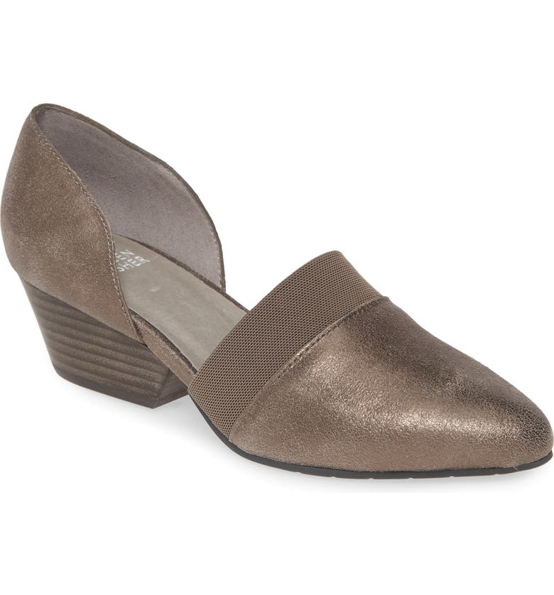 EILEEN FISHER Hilly d'Orsay Pump, Main, color, PEWTER SUEDE