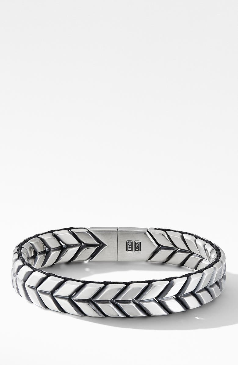 David Yurman Chevron Woven Bracelet