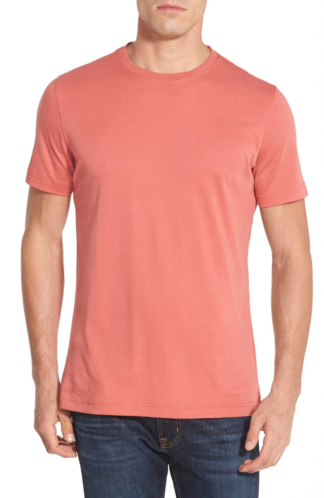 ,                             Georgia Crewneck T-Shirt,                             Main thumbnail 466, color,                             637