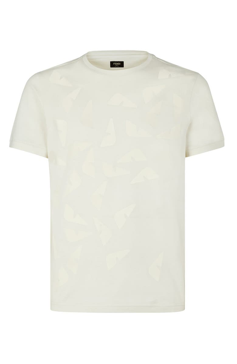 FENDI Falling Eyes T-Shirt, Main, color, 140