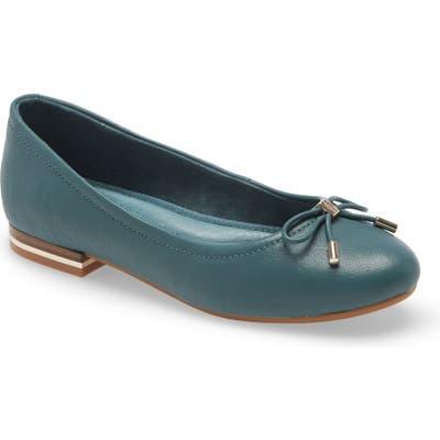 Kenneth Cole New York Balance Ballet Flat- Green