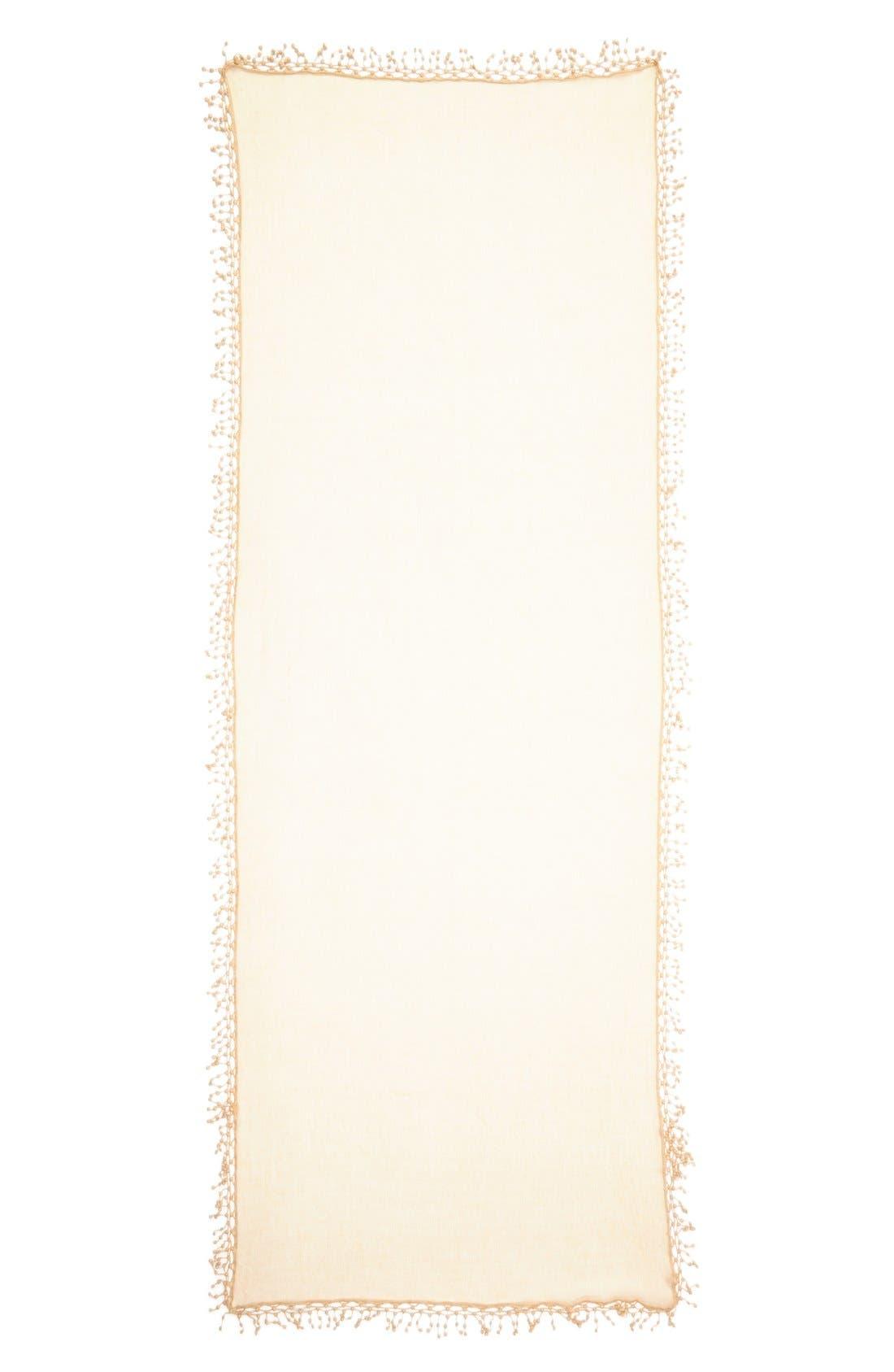 ,                             'Pompom' Cashmere Wrap,                             Alternate thumbnail 11, color,                             280
