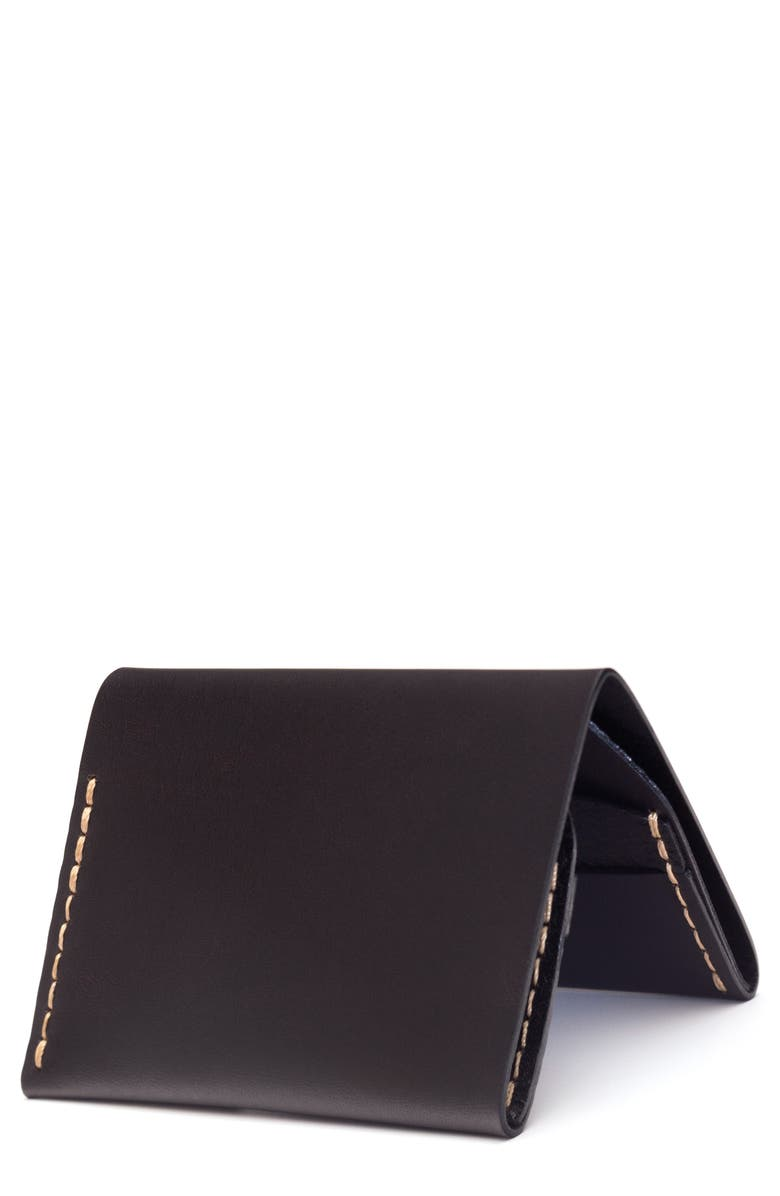 EZRA ARTHUR No. 4 Leather Wallet, Main, color, 005