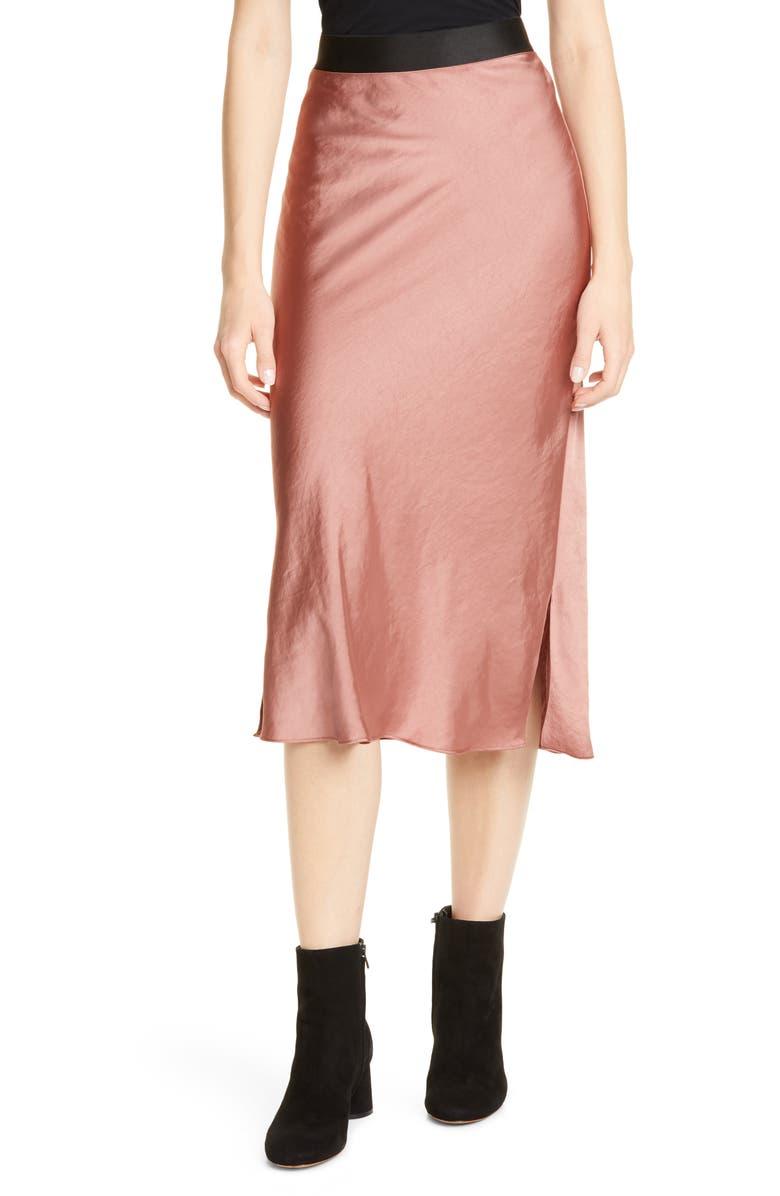 SMYTHE Slip Midi Skirt, Main, color, 220