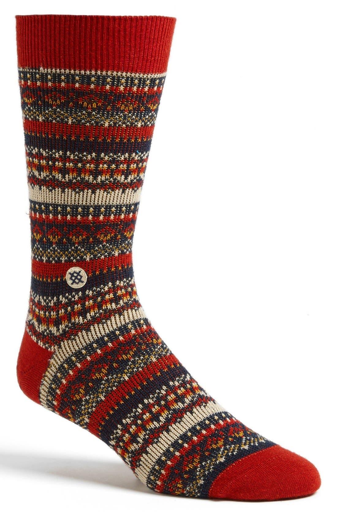 'Moorland' Socks, Main, color, 260