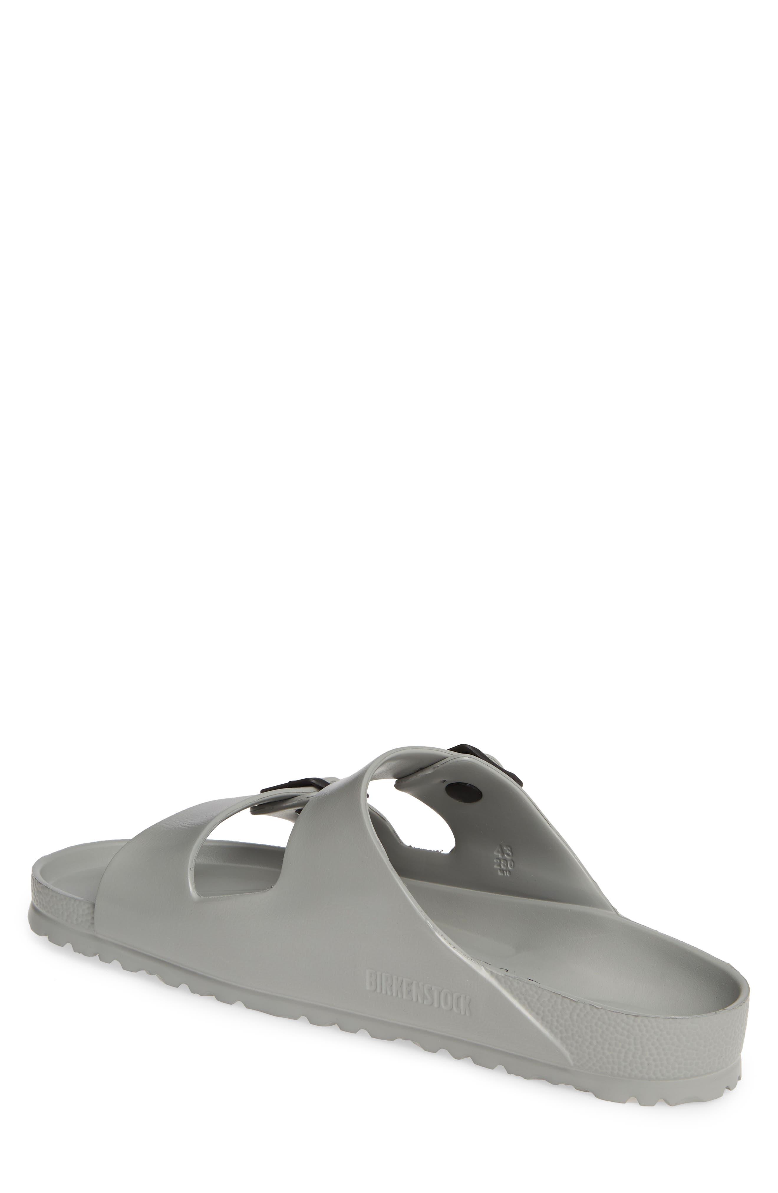 ,                             Essentials Arizona EVA Waterproof Slide Sandal,                             Alternate thumbnail 2, color,                             SEAL GRAY