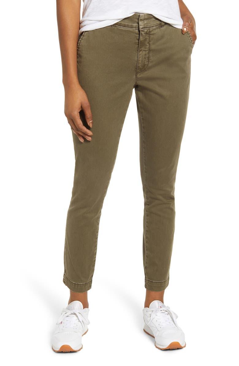 CASLON<SUP>®</SUP> New Chino Pants, Main, color, OLIVE SARMA