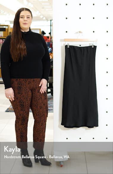 Lyndon Bias Cut Midi Skirt, sales video thumbnail