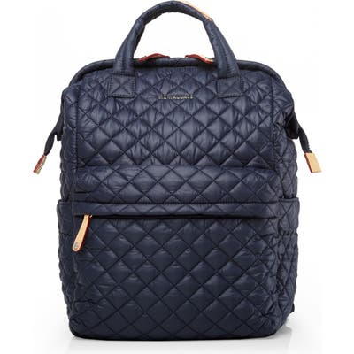 Mz Wallace Top Handle Backpack - Blue