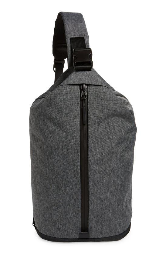 Aer Water Resistant Sling Bag In Gray