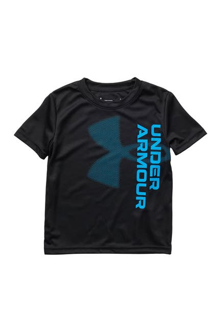 Image of Under Armour Vertical Branded Logo T-Shirt