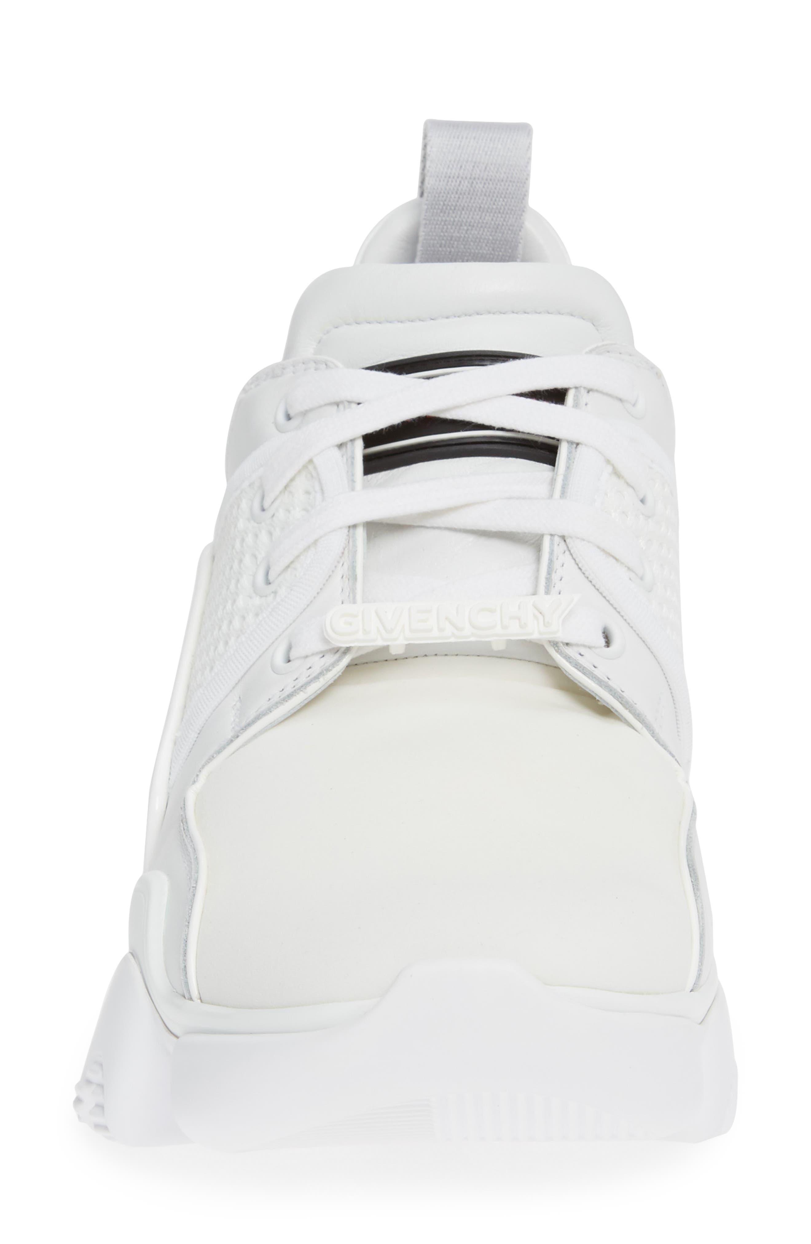 ,                             Jaw Sneaker,                             Alternate thumbnail 4, color,                             WHITE