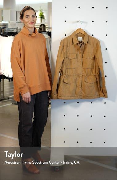 Faux Fur Lined Utility Jacket, sales video thumbnail