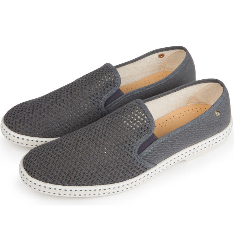 RIVIERAS 'Classic' Slip-On, Main, color, ANTHRACITE