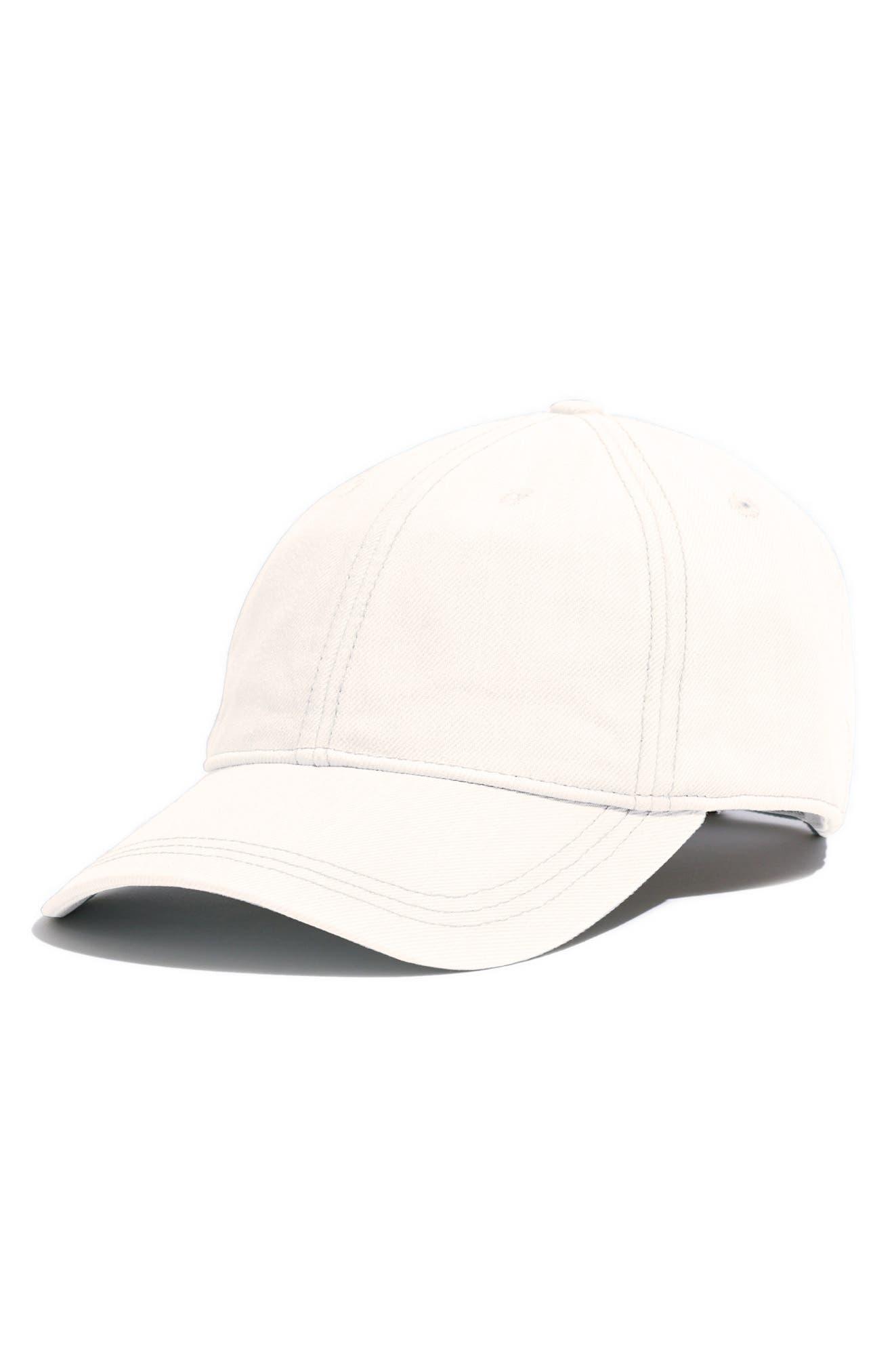 Faded Denim Baseball Cap