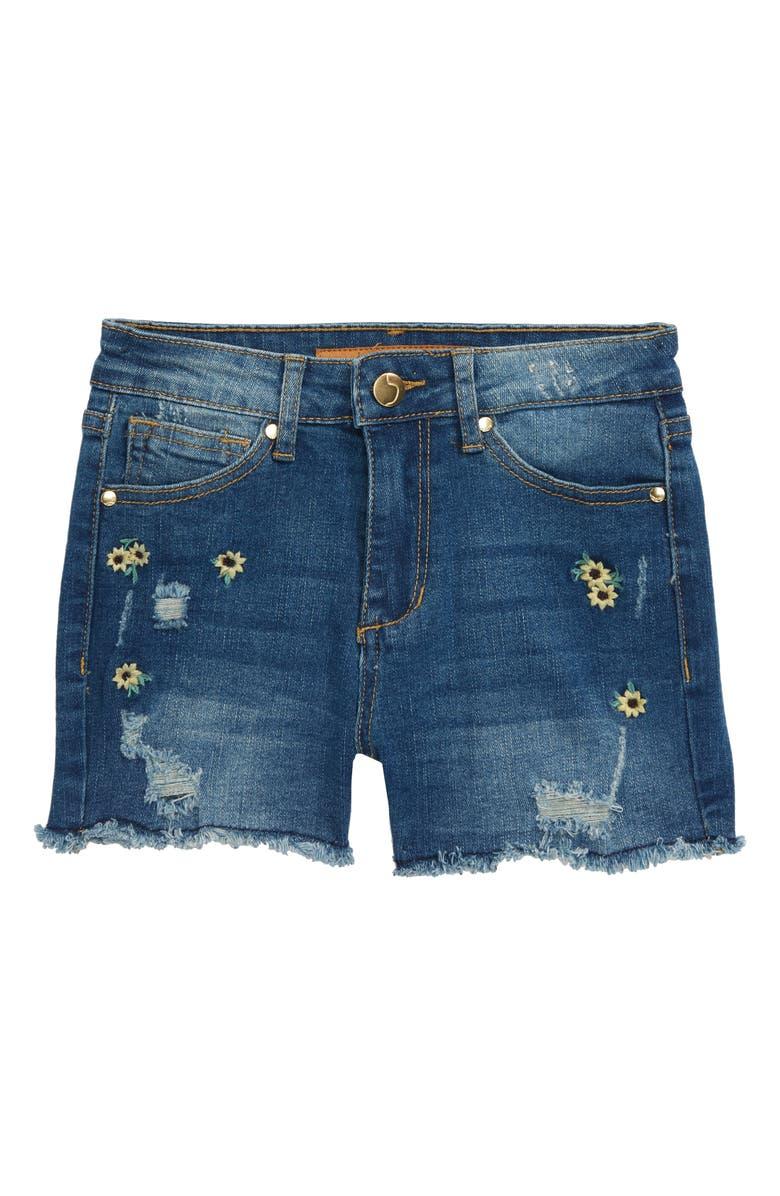 JOE'S The Daisy Denim Shorts, Main, color, 400