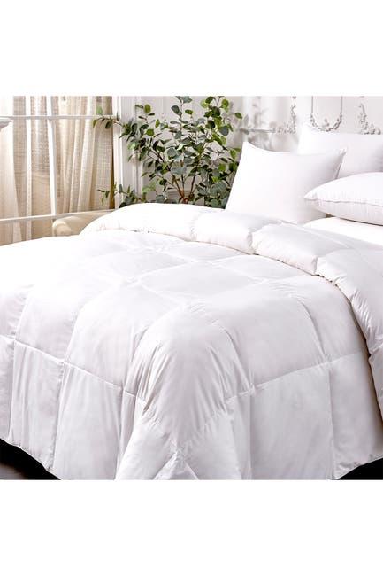Image of Blue Ridge Home Fashions Kathy Ireland Extra Warmth White Goose Feather & Down Fiber Comforter - Twin