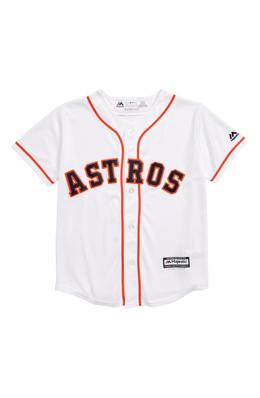 d16f172d8 Majestic MLB Houston Astros Replica Baseball Jersey (Toddler Boys) |  Nordstrom
