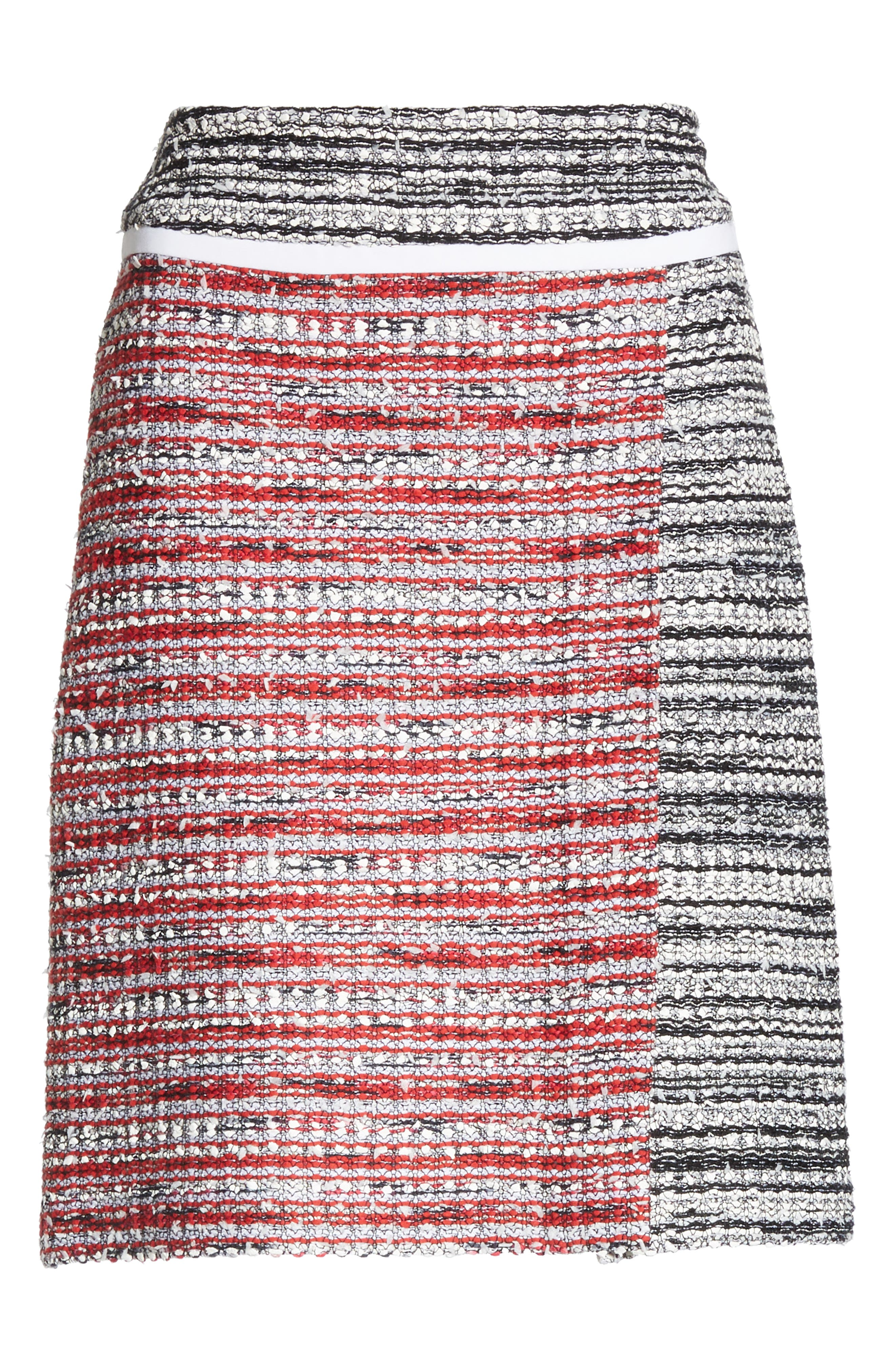 ,                             Amelia Knit Skirt,                             Alternate thumbnail 6, color,                             CAVIAR MULTI