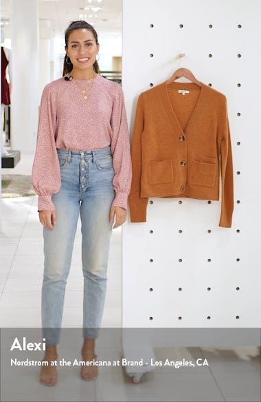 Shrunken Cardigan Sweater, sales video thumbnail