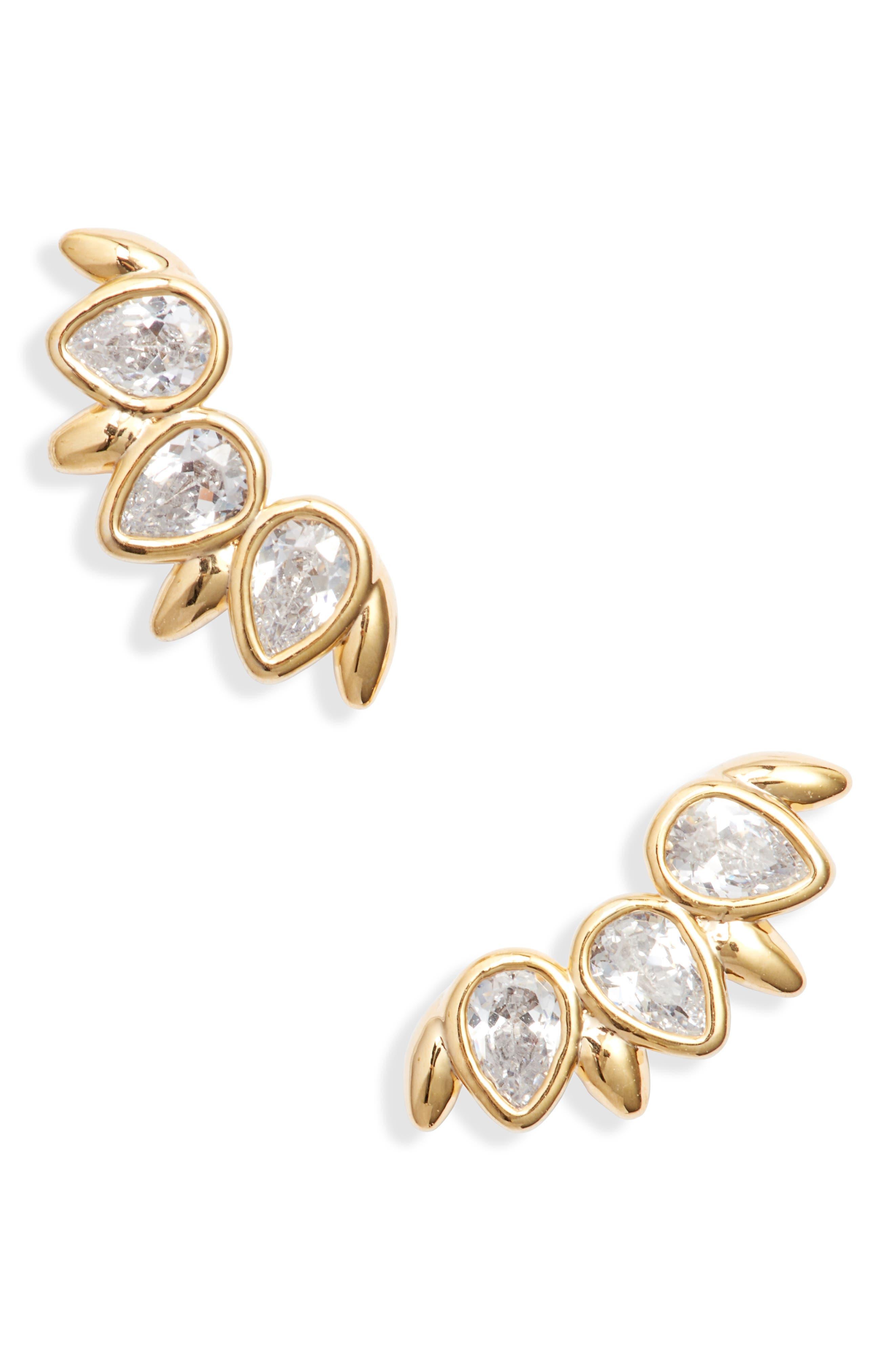 Petal Crawler Earrings