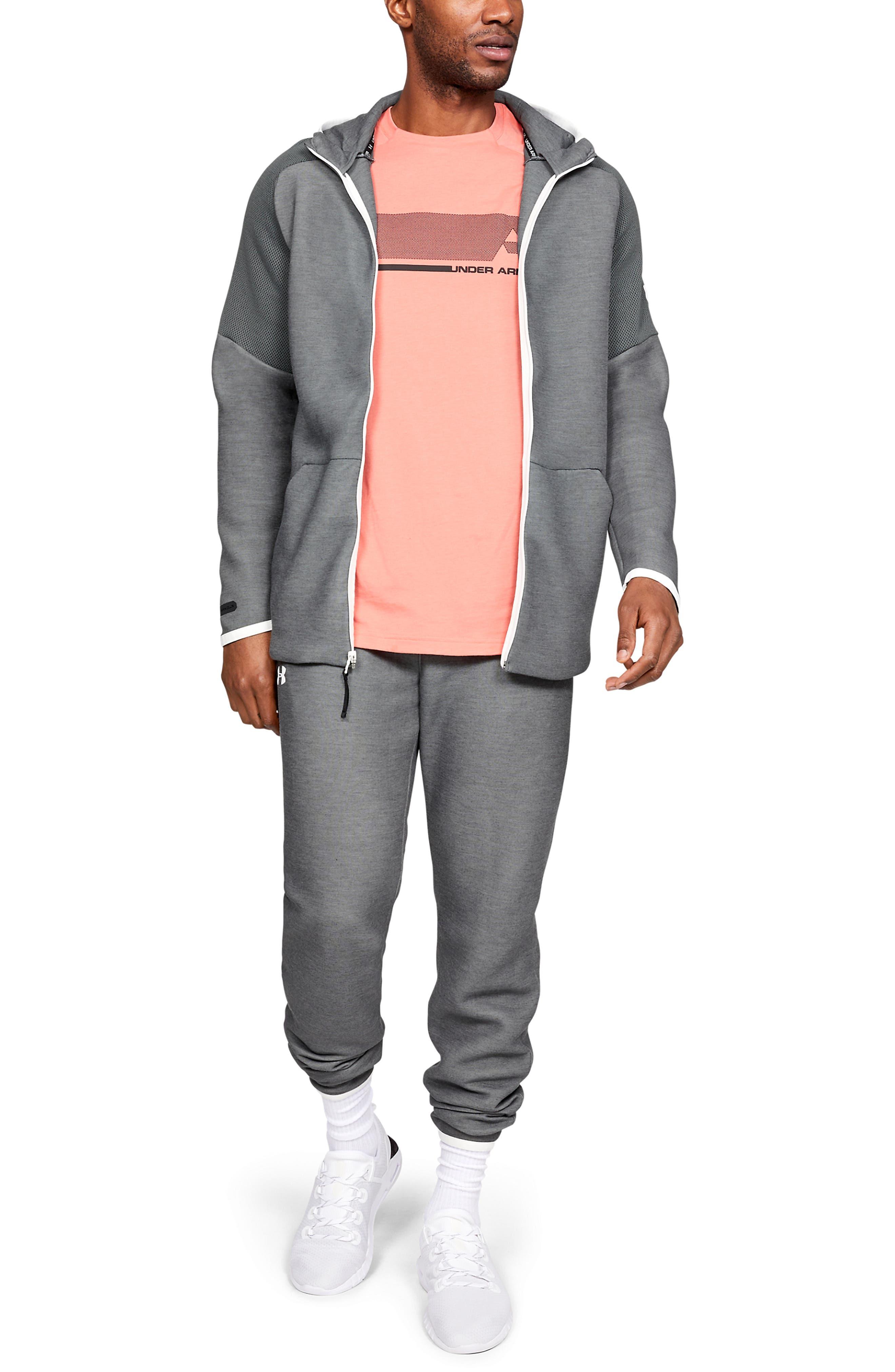 ,                             Unstoppable Move Light Full-Zip Hooded Sweatshirt,                             Alternate thumbnail 5, color,                             002