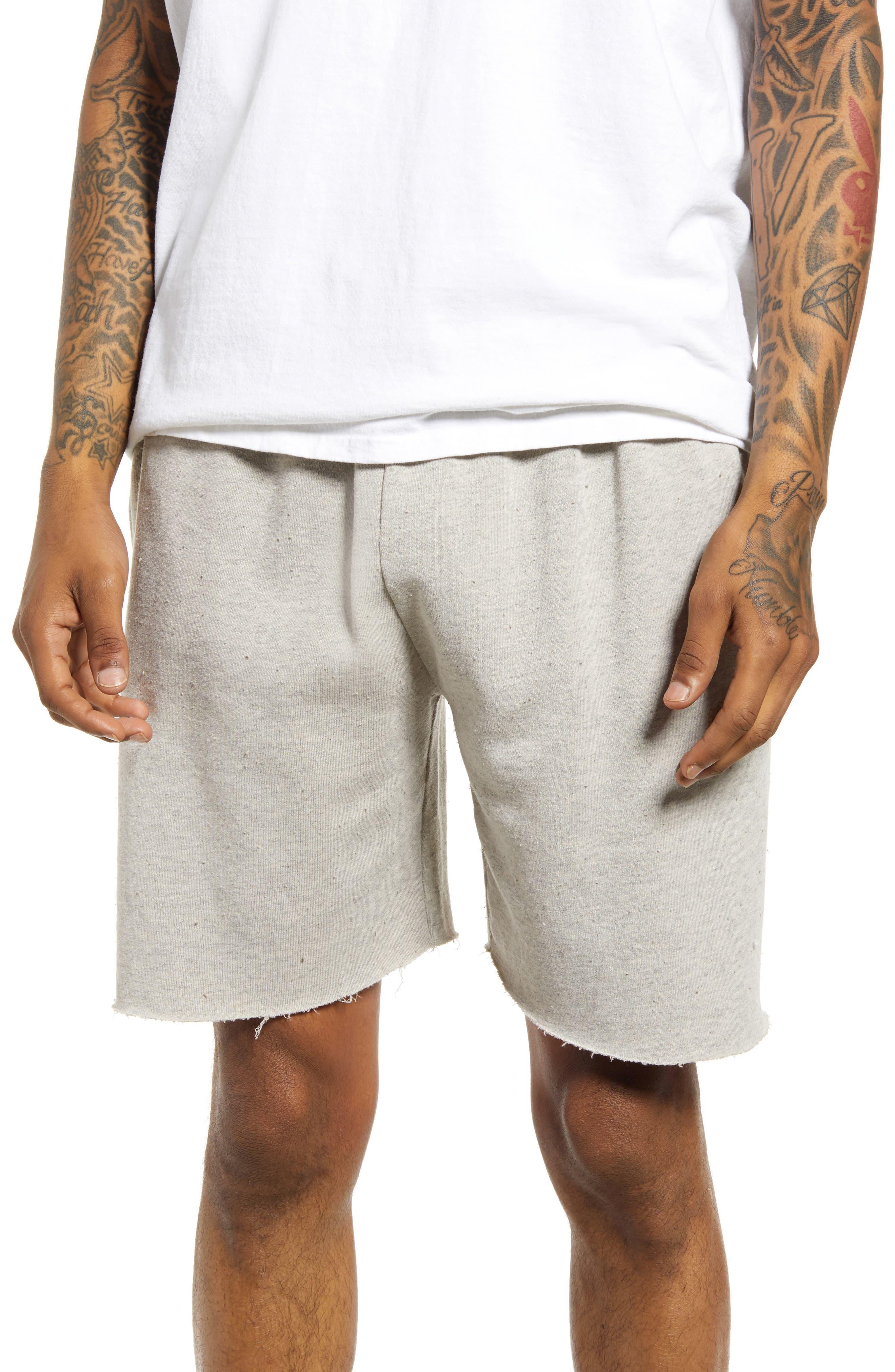 Cutoff Jogger Shorts