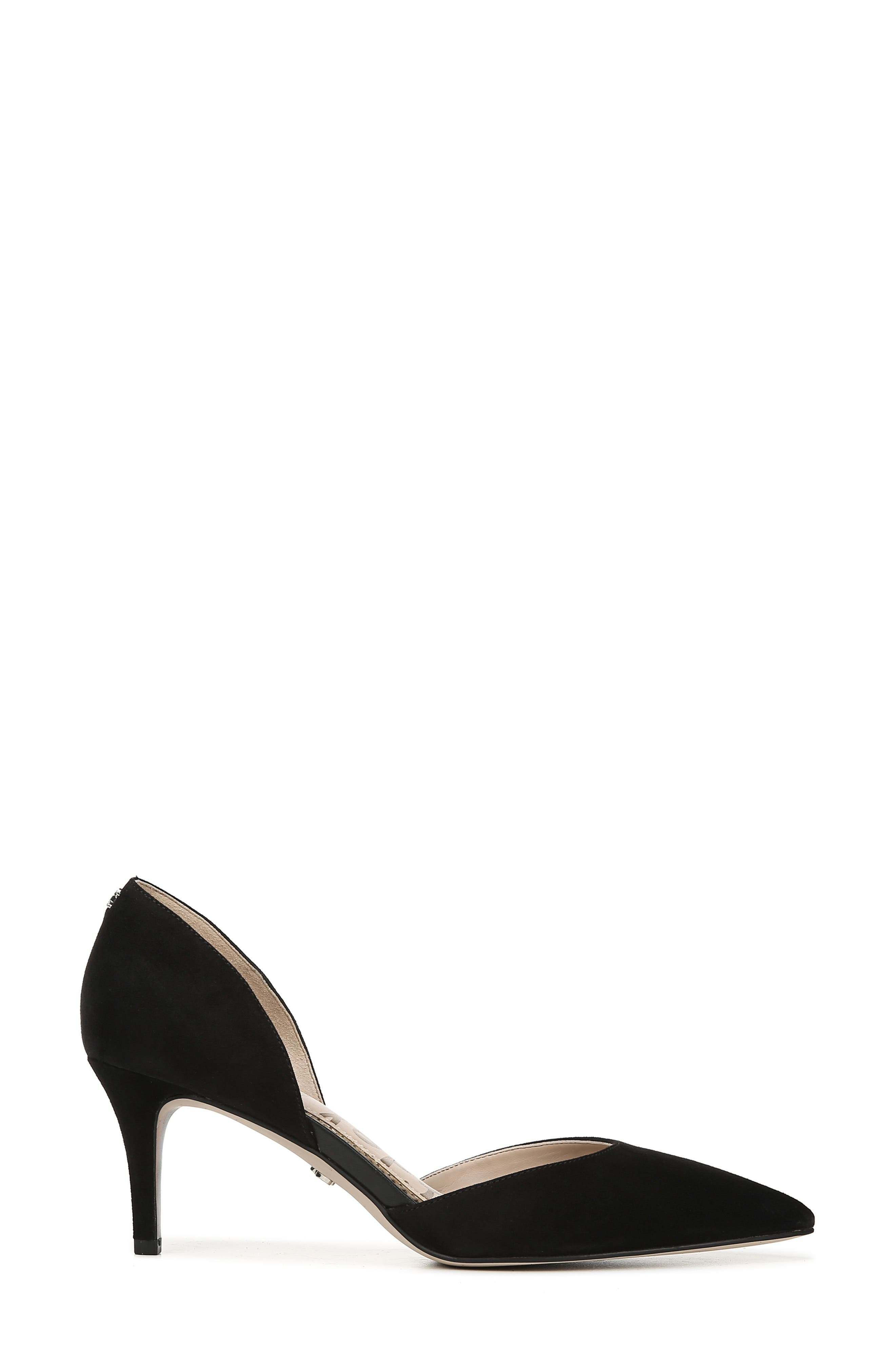 ,                             Jaina Pump,                             Alternate thumbnail 2, color,                             BLACK SUEDE LEATHER