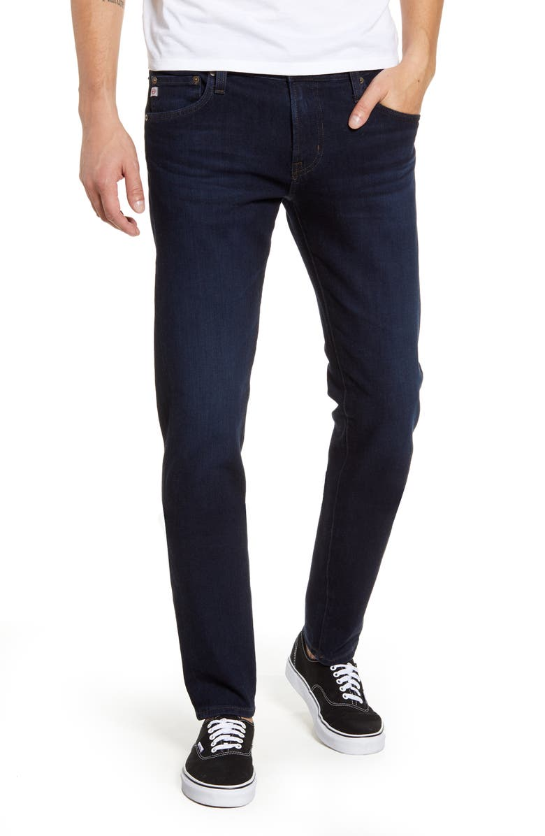 AG Dylan Skinny Fit Jeans, Main, color, SCOUT