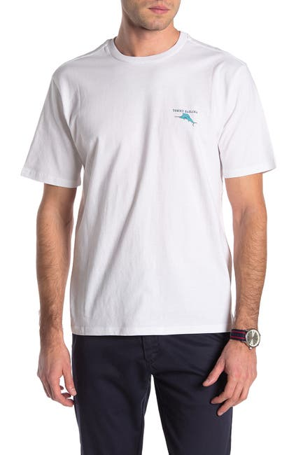 Image of Tommy Bahama Estate Sail Graphic T-Shirt