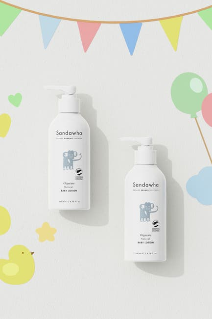 Image of SANDAWHA Orgacare Natural Baby Lotion
