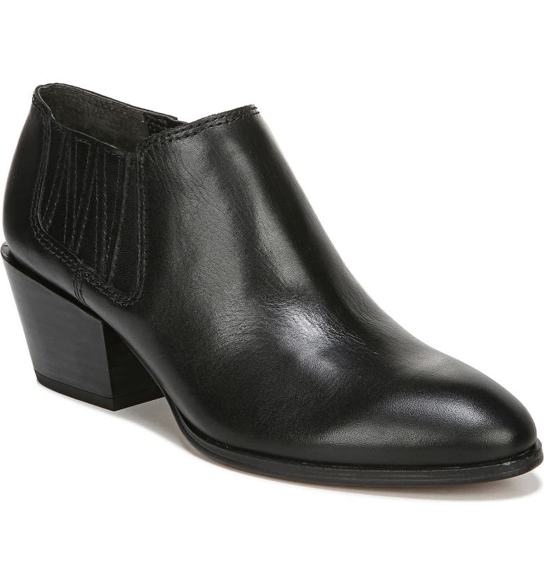 FRANCO SARTO Dylann Bootie, Main, color, BLACK LEATHER