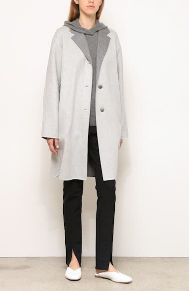 Cullen Reversible Wool & Cashmere Coat, video thumbnail