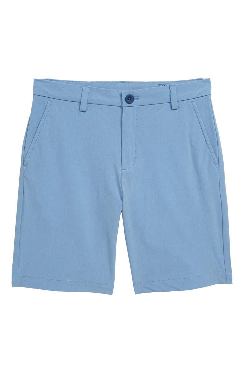 VINEYARD VINES Performance Breaker Shorts, Main, color, COASTLINE