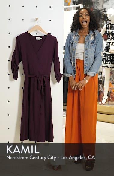 Midi Faux Wrap Dress, sales video thumbnail
