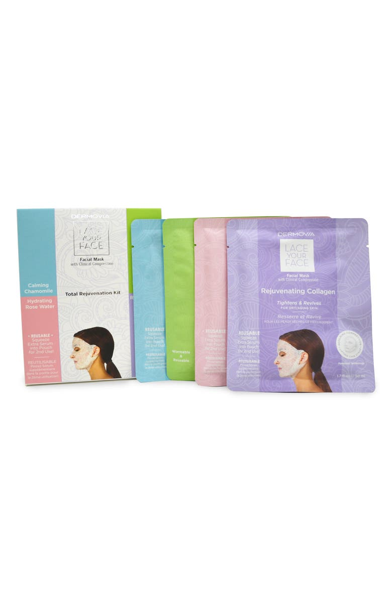 DERMOVIA Lace Your Face Total Rejuvenation Kit, Main, color, 000
