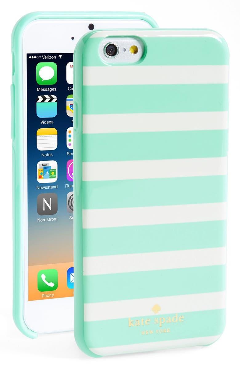 KATE SPADE NEW YORK 'fairmont square' iPhone 6 case, Main, color, 401