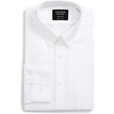 Nordstrom Shop Smartcare(TM) Trim Fit Dress Shirt - White