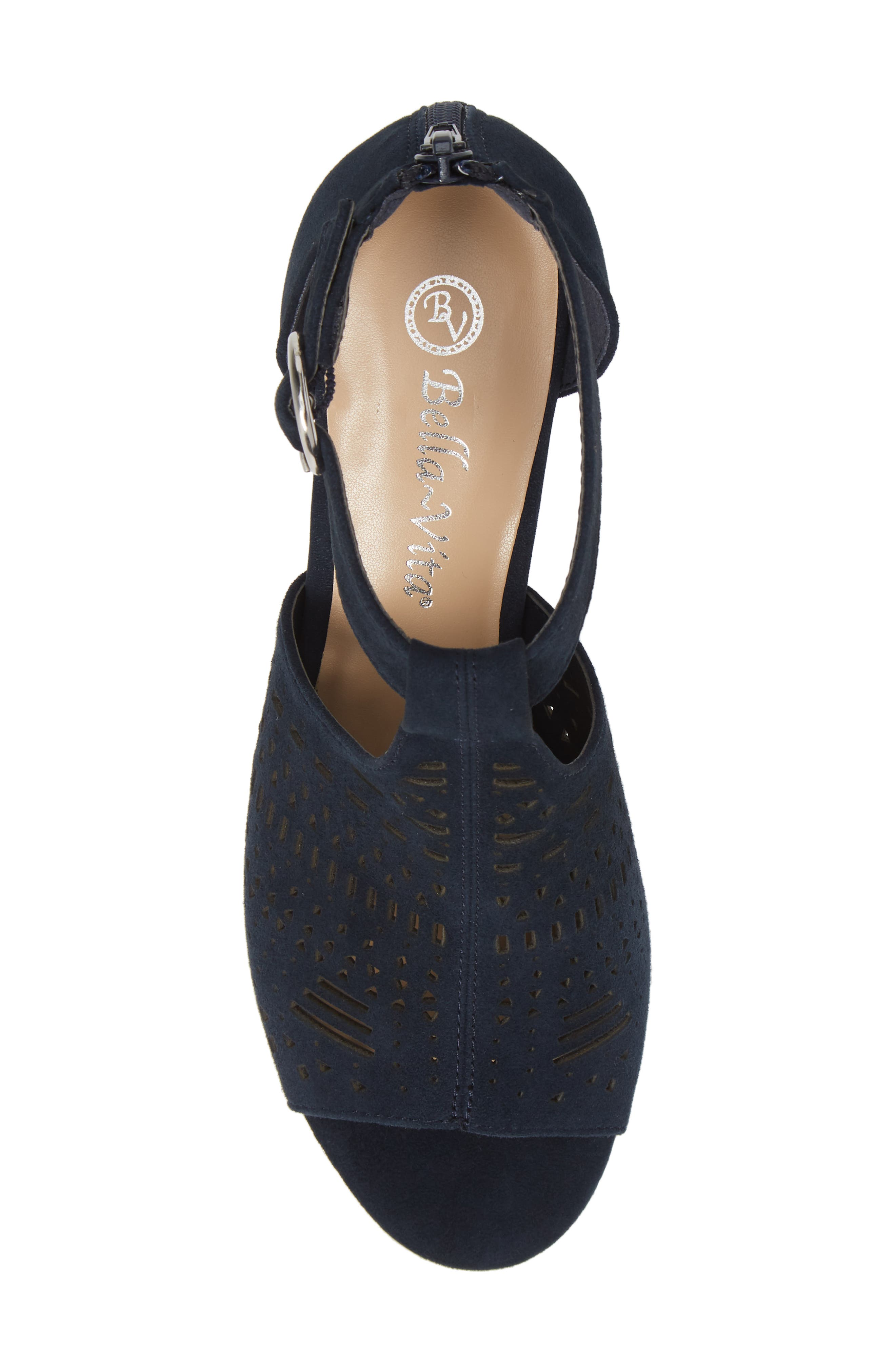 ,                             Finn Sandal,                             Alternate thumbnail 5, color,                             NAVY SUEDE