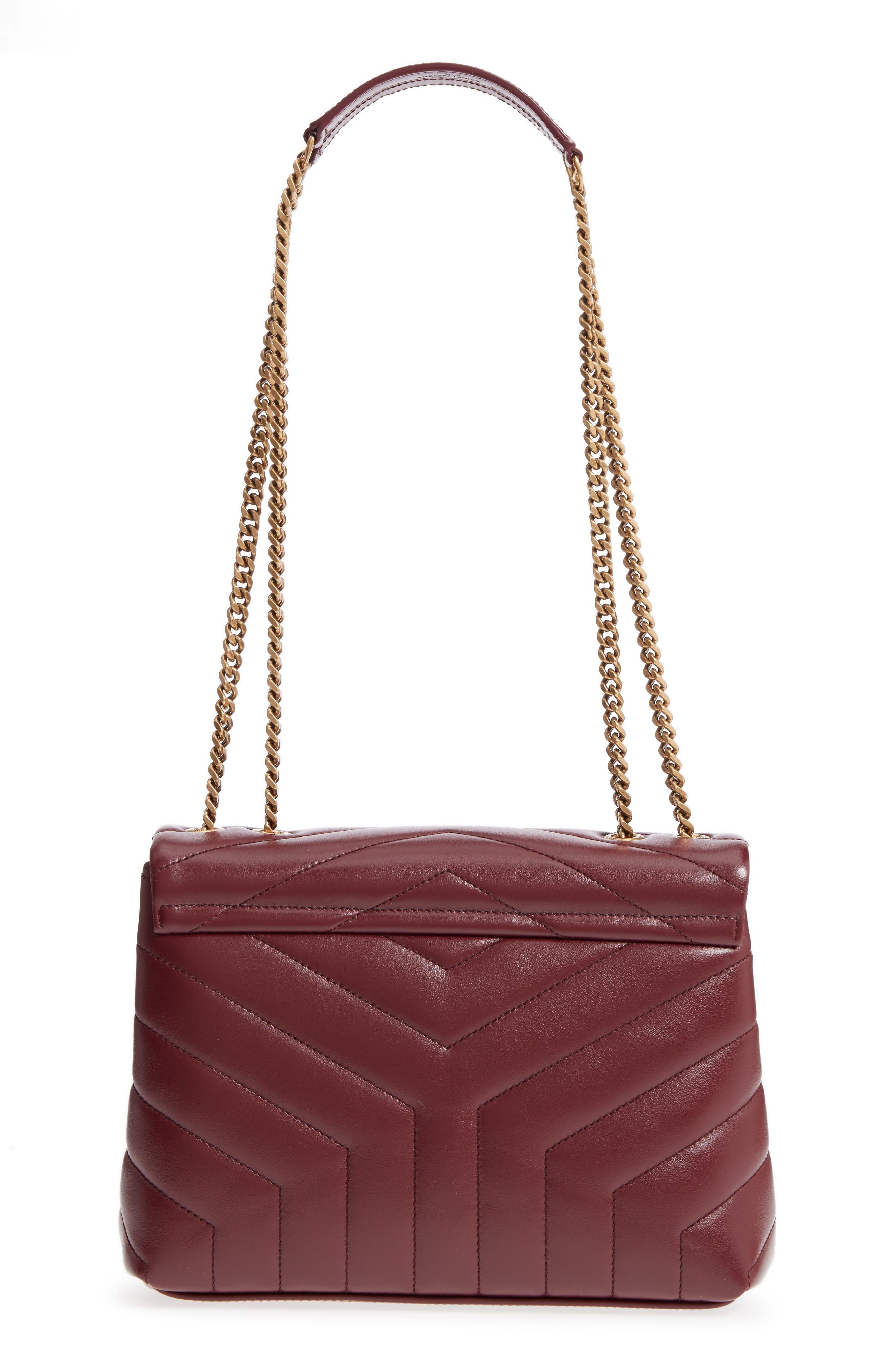 ,                             Small Loulou Leather Shoulder Bag,                             Alternate thumbnail 30, color,                             930