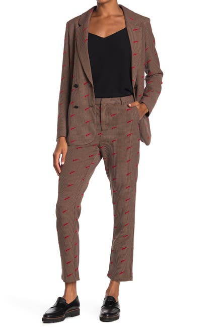 Image of Scotch & Soda Tailored Printed Pants