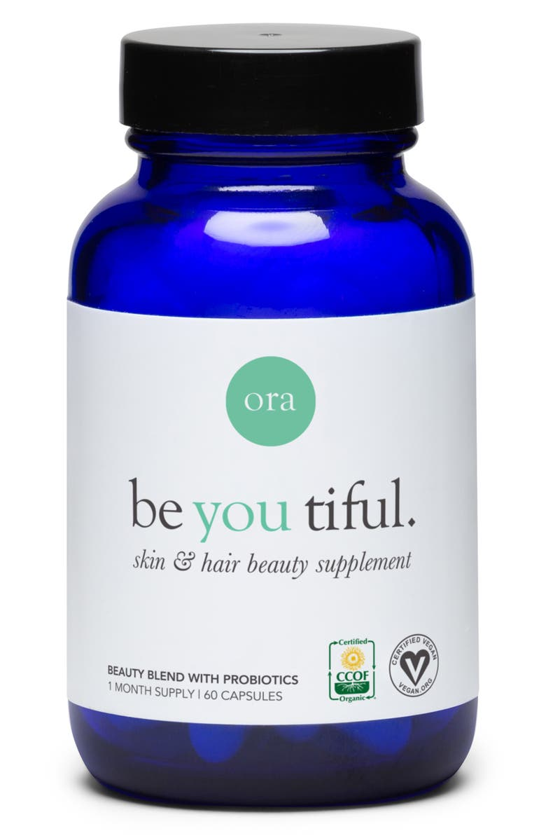 08cd0f45f7f Ora Organic Be You Tiful Skin & Hair Dietary Supplement | Nordstrom