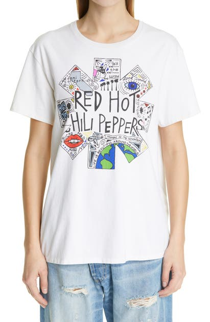 R13 Cottons RHCP DOODLE GRAPHIC BOY TEE