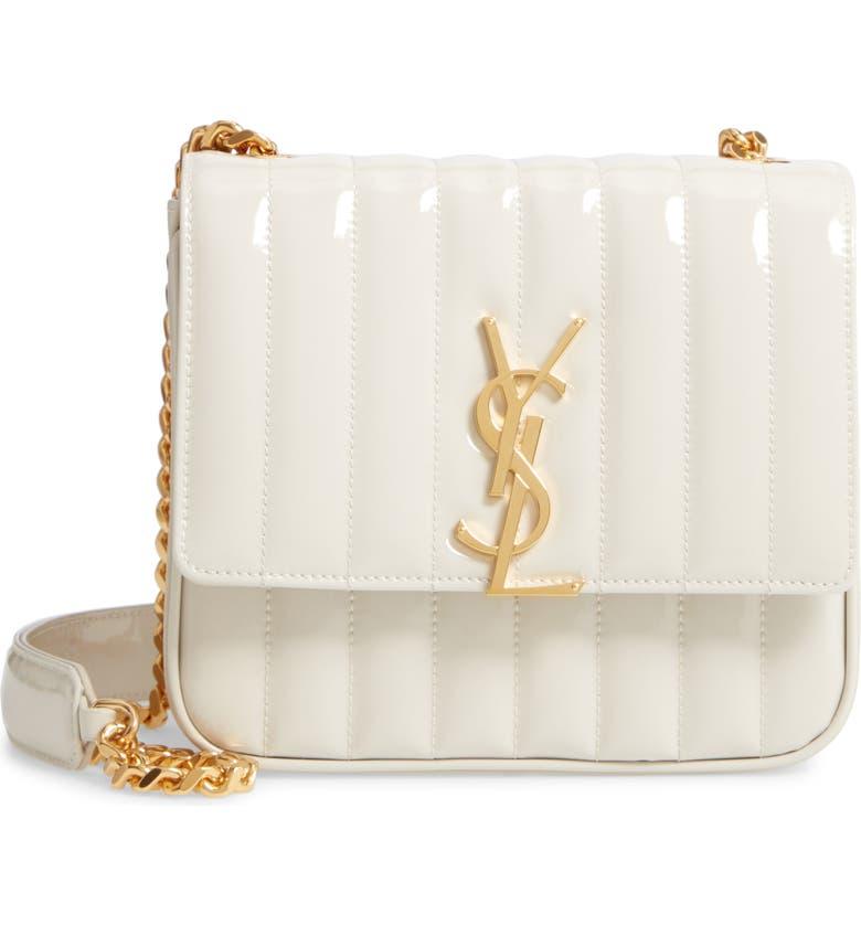fe4dbfaef53 Saint Laurent Medium Vicky Patent Leather Crossbody Bag | Nordstrom