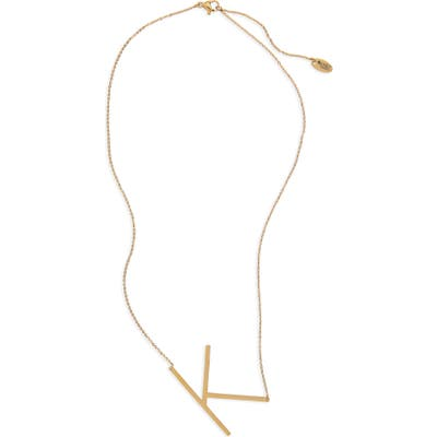 Jonesy Wood Large Initial Necklace