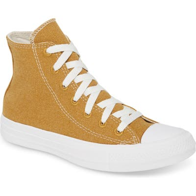 Converse Chuck Taylor All Star Renew High Top Sneaker, Yellow