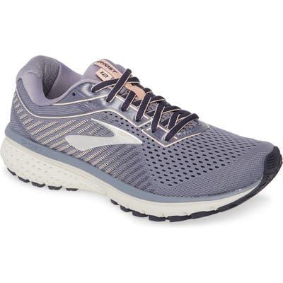 Brooks Ghost 12 Running Shoe, Grey