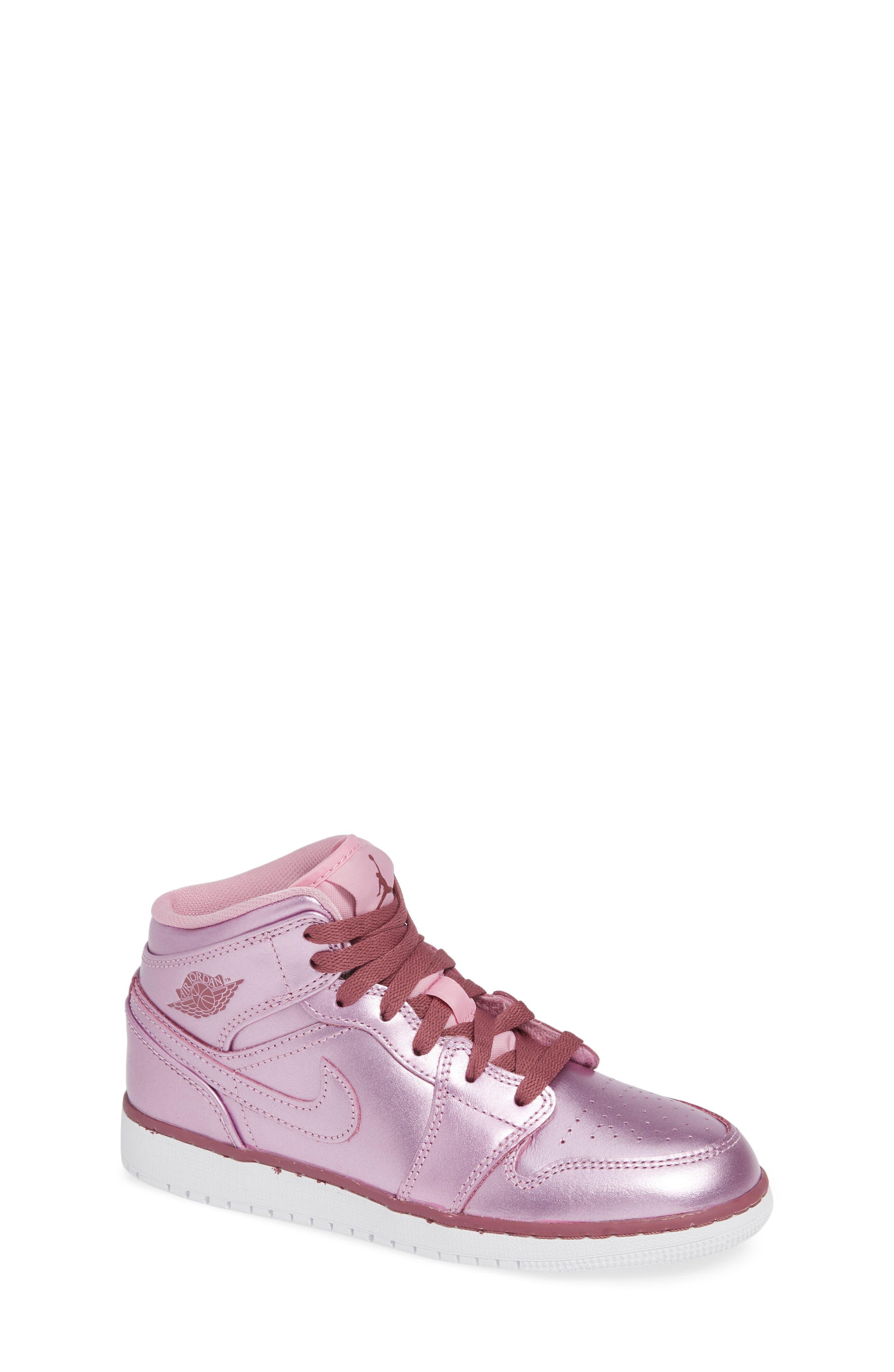 Nike Air Jordan Mid SE GS Sneaker (Baby